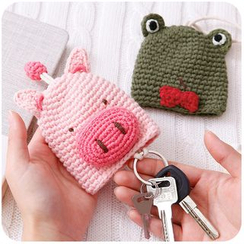 Momoi - Knit Animal Key Cover