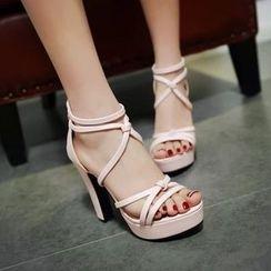 JY Shoes - High Heel Sandals