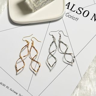 Wind Valley - Helical Statement Earrings