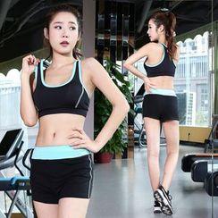 RITMO - 套装: 运动胸衣 + 短裤