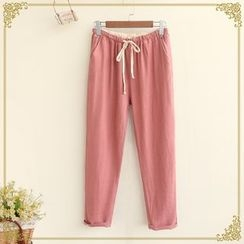 Fairyland - Plain Drawstring Pants