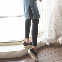 ode' - Brushed Fleece Lined Leggings