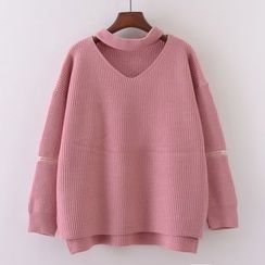 Tulander - Cut Out Front Sweater
