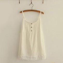 Angel Love - Lace Panel Camisole Top
