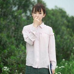 tete - 荷葉褶襯衫