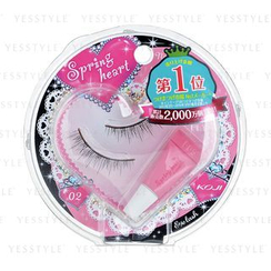 Koji - Spring Heart Eyelash (#02 Natural Cute)
