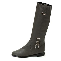 MODELSIS - Buckled Knee-Length Boots