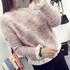 FR - Frill Trim Sweater