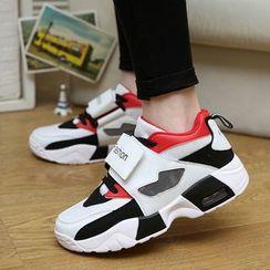 MR.GONG - 插色气垫休閒鞋