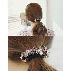 soo n soo - Embellished Hair Tie