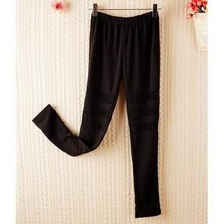 JVL - Tulle-Panel Leggings