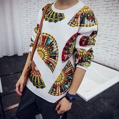 百高 - 印花套衫