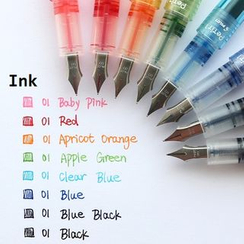 Nina's House - Set of 3: Colored Fountain Pen Ink