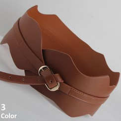 Goldenrod - Scallop Edge Waist Belt