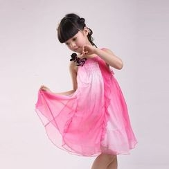 Famula - Kids Sleeveless Ruffled Dress