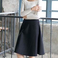 CatWorld - A-Line Midi Skirt