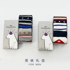 MITU - Set of 4 Pairs: Print Socks