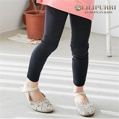 LILIPURRI - Girls Plain Leggings