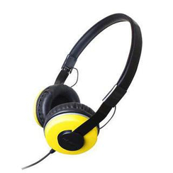 Zumreed - Zumreed ZHP-500 Portable Headphone (Yellow)