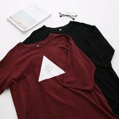 LEMONADE - 3/4-Sleeve Printed Long T-Shirt