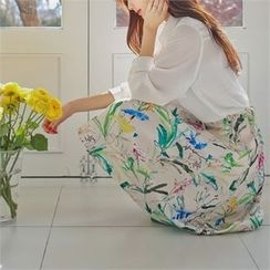Styleberry - Pocket-Front Plaid Shirt