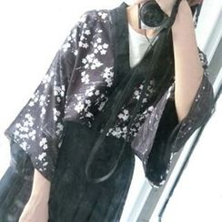 Rega - Floral Kimono Jacket /  Shorts