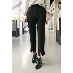 ATTYSTORY - Slit-Front Dress Pants
