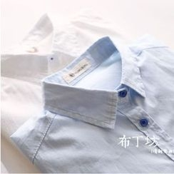 Bonbon - Plain Long-Sleeve Shirt