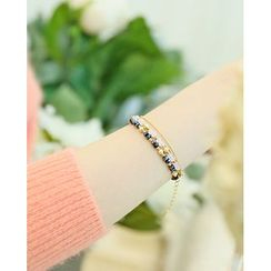 Miss21 Korea - Beaded Bracelet