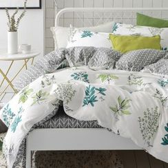 Sharemily - Printed Bed Sheet Set