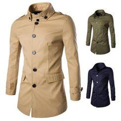 Constein - Plain Buttoned Coat