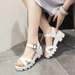Shoes Galore - Ankle-Strap Sandals