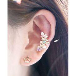 Miss21 Korea - Flower Ear Cuff (Single)
