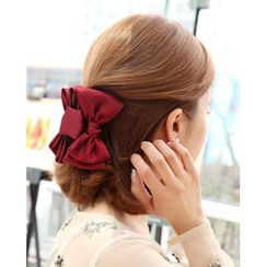 Miss21 Korea - Bow-Accent Hair Clamp