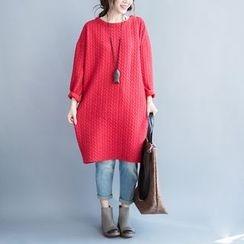 Showie - 长袖T恤裙