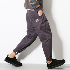 Bay Go Mall - Plain Baggy Pants