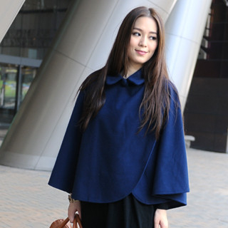 59th Street - Peter Pan Collar Cape