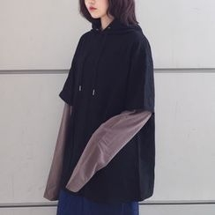 MATO - Mock Two-Piece Oversized Hoodie