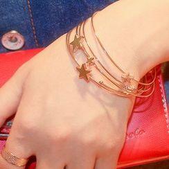 Ticoo - Multi Strap Star Bracelet