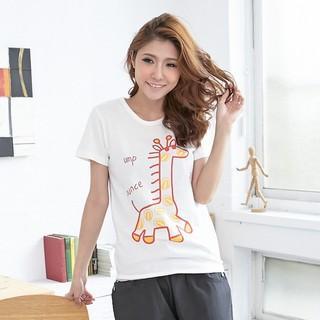 RingBear - Giraffe-Print T-Shirt