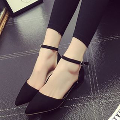 Zandy Shoes - Pointy Flats