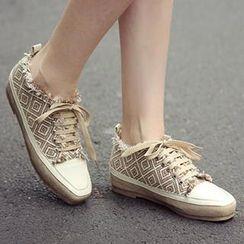 Mancienne - Printed Sneakers