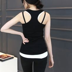 DANI LOVE - Racer-Back Tank Top