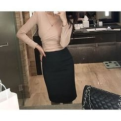 Marlangrouge - Midi Pencil Skirt