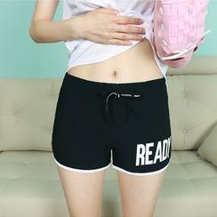 Dodostyle - Drawstring-Waist Shorts