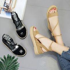 Charming Kicks - Platform Sandals