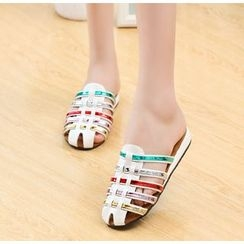 BAYO - Color Block Sandals