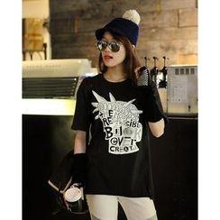 SARADA - Short-Sleeve Printed T-Shirt