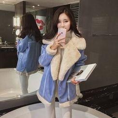 Bloombloom - Woolen Long Jacket