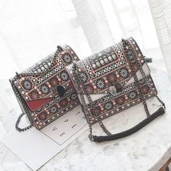 Nautilus Bags - Patterned Shoulder Bag